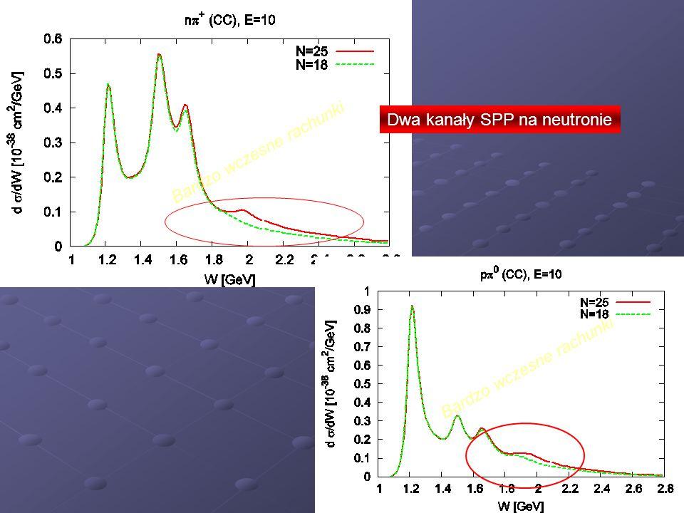 Dwa kanały SPP na neutronie