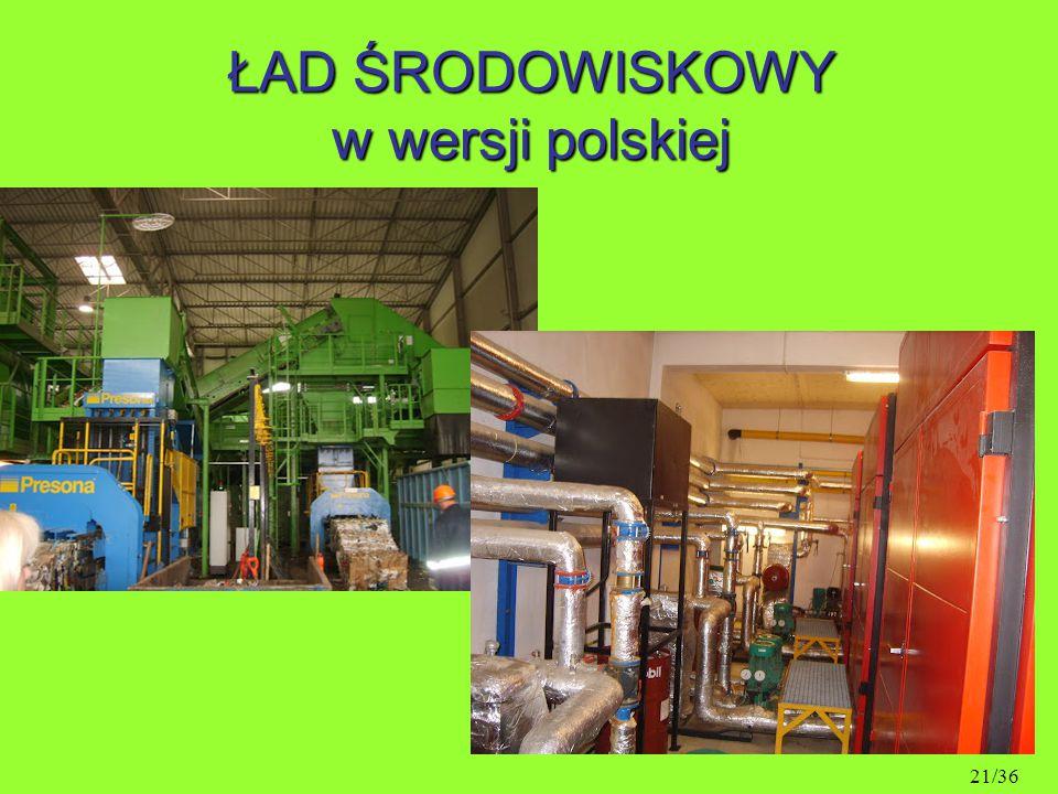 ŁAD ŚRODOWISKOWY w wersji polskiej