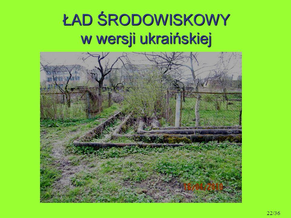 ŁAD ŚRODOWISKOWY w wersji ukraińskiej