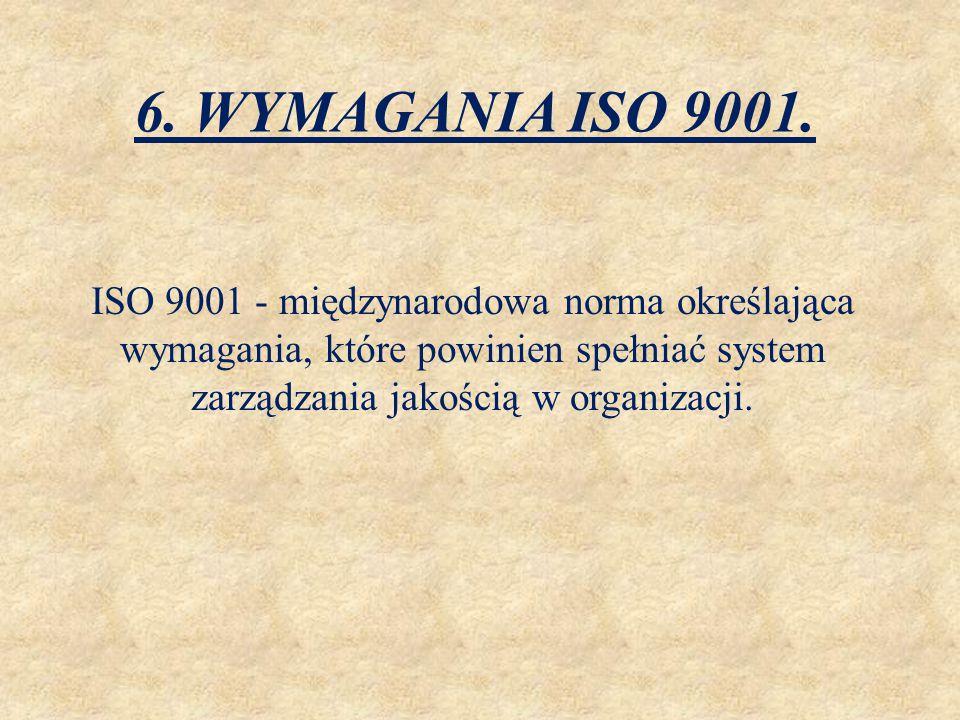 6. WYMAGANIA ISO 9001.