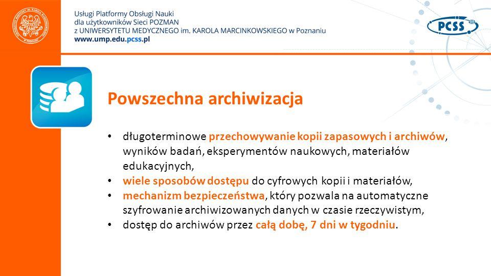 Powszechna archiwizacja