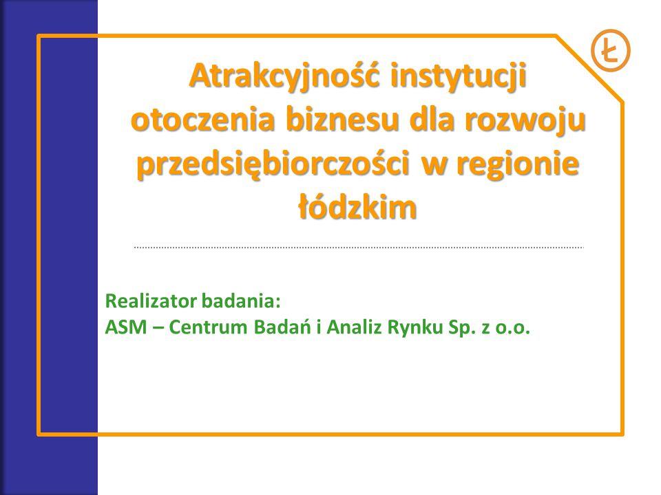 Atrakcyjność instytucji otoczenia biznesu dla rozwoju przedsiębiorczości w regionie łódzkim