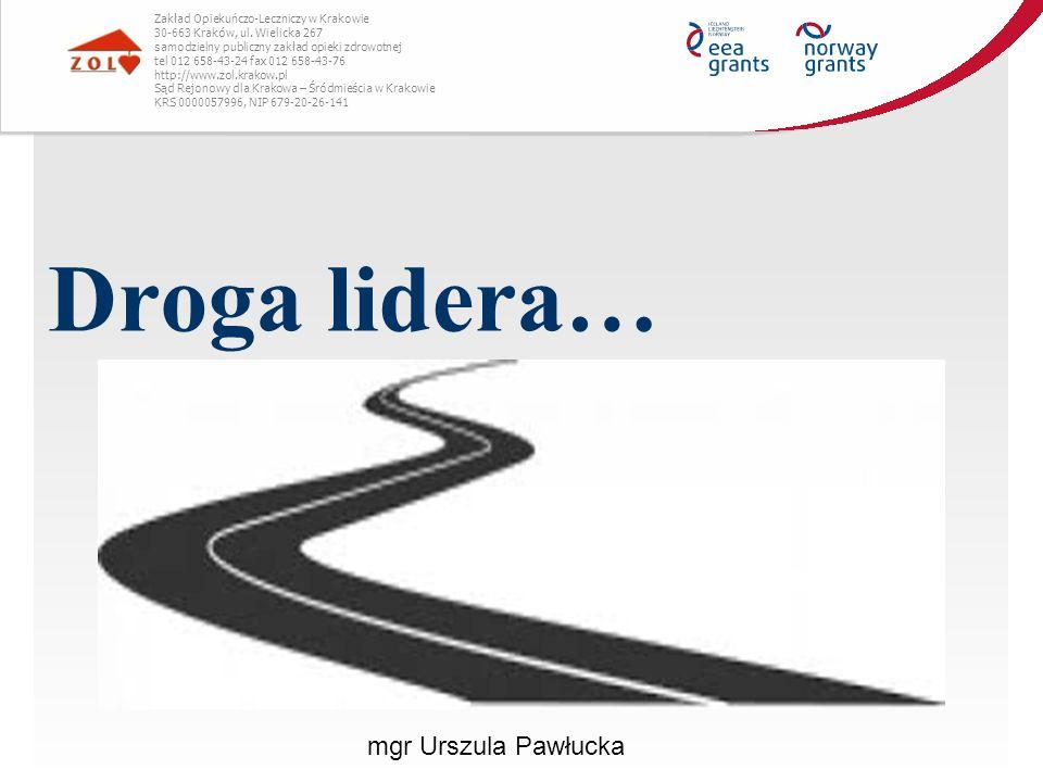 Droga lidera… mgr Urszula Pawłucka