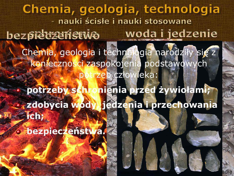 Chemia, geologia, technologia nauki ścisłe i nauki stosowane