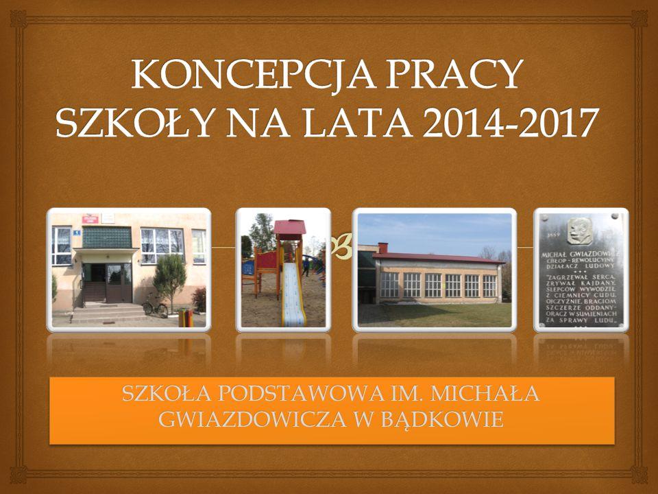 KONCEPCJA PRACY SZKOŁY NA LATA 2014-2017