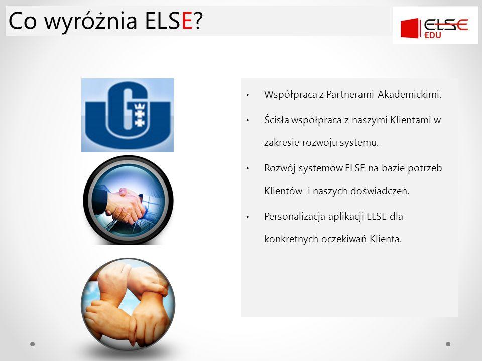 Co wyróżnia ELSE Współpraca z Partnerami Akademickimi.