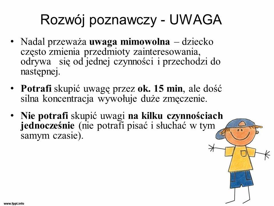 Rozwój poznawczy - UWAGA