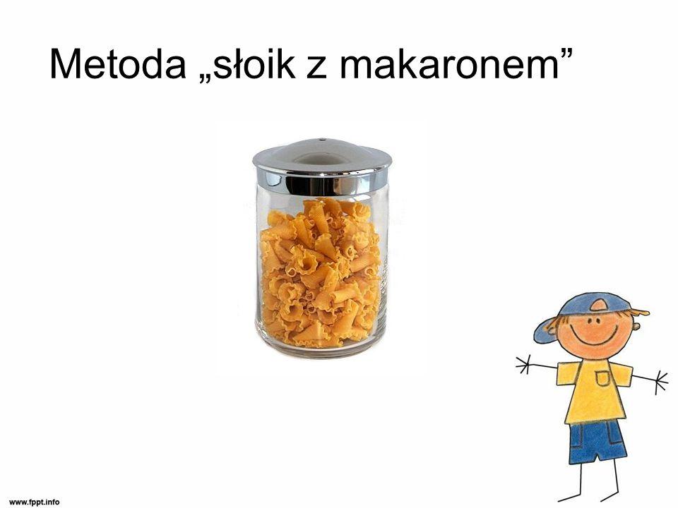 "Metoda ""słoik z makaronem"