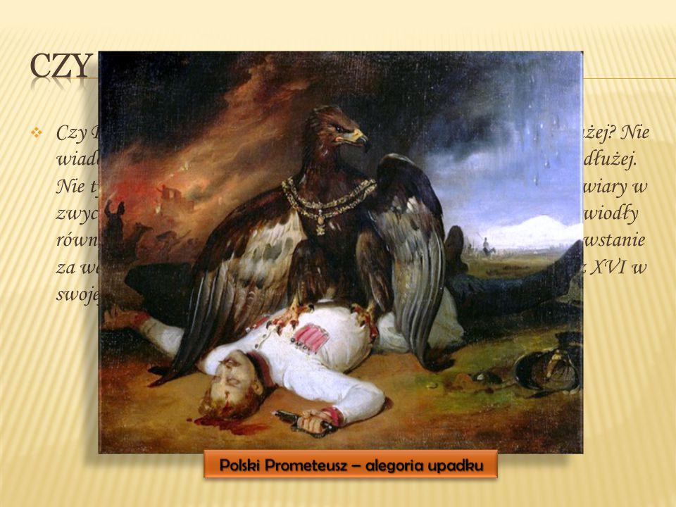 Polski Prometeusz – alegoria upadku