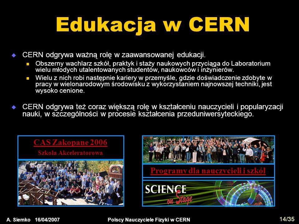 Szkoła Akceleratorowa Programy dla nauczycieli i szkół