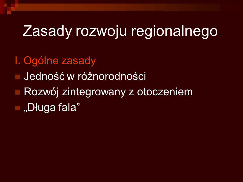 Zasady rozwoju regionalnego