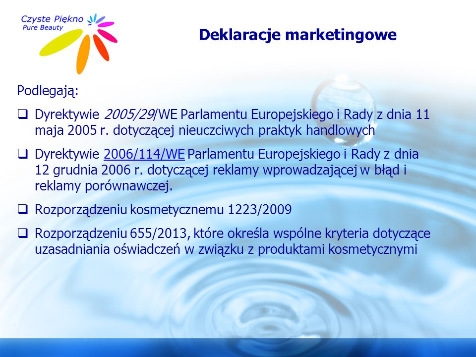 Deklaracje marketingowe