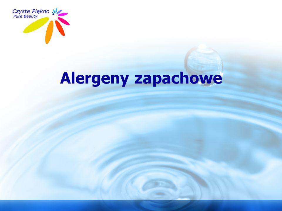 Alergeny zapachowe