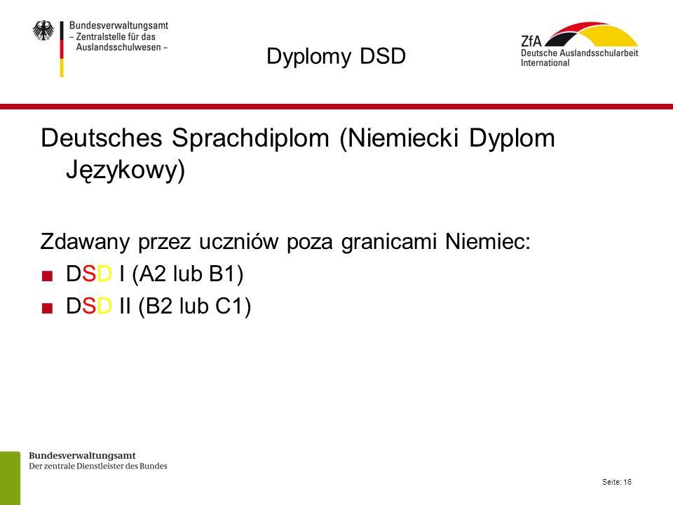 Deutsches Sprachdiplom (Niemiecki Dyplom Językowy)