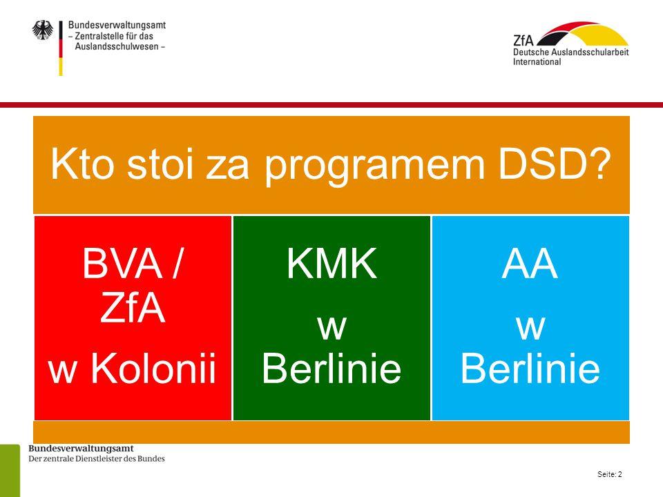 Kto stoi za programem DSD