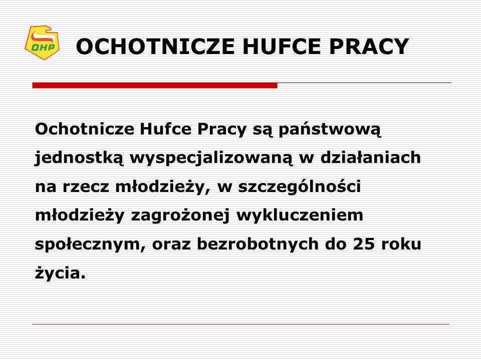 OCHOTNICZE HUFCE PRACY