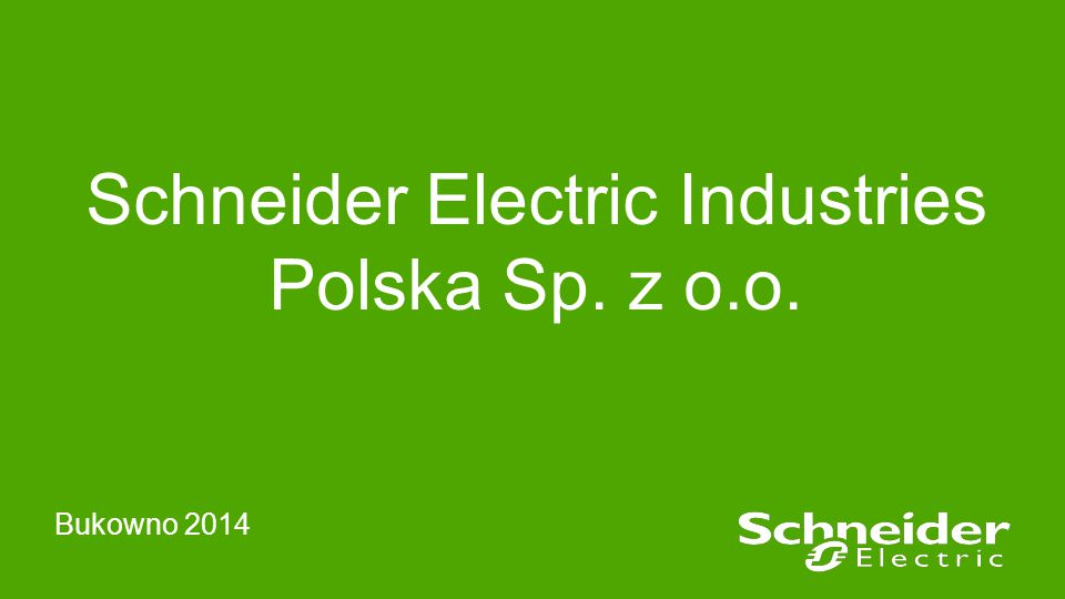Schneider Electric Industries Polska Sp. z o.o.