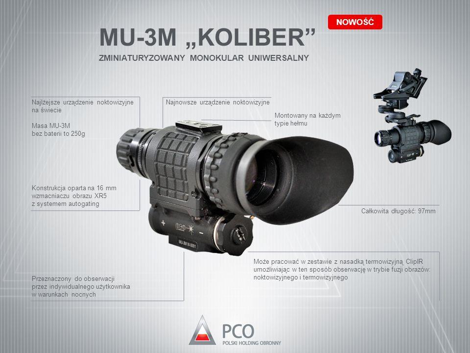 """MU-3M """"KOLIBER NOWOŚĆ ZMINIATURYZOWANY MONOKULAR UNIWERSALNY"""