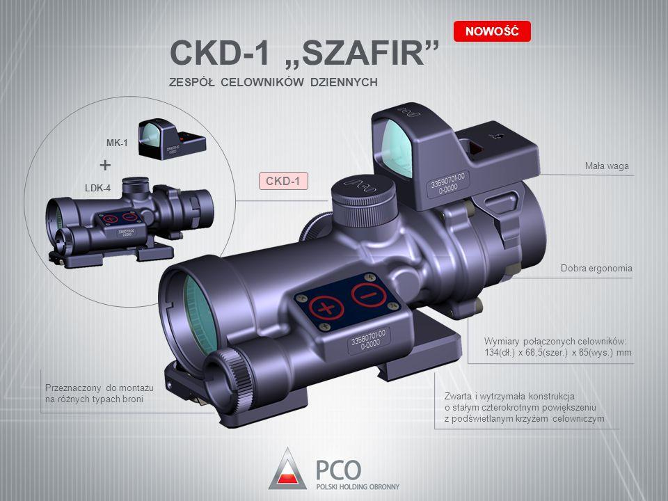 """CKD-1 """"SZAFIR + NOWOŚĆ ZESPÓŁ CELOWNIKÓW DZIENNYCH CKD-1 MK-1"""