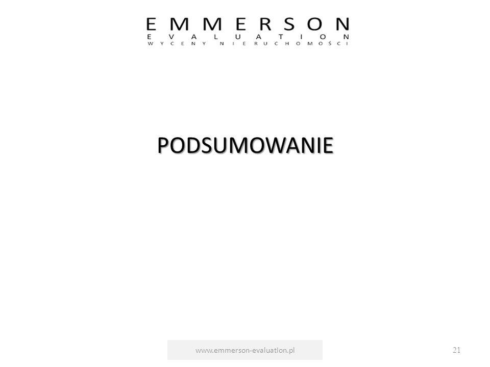 PODSUMOWANIE www.emmerson-evaluation.pl