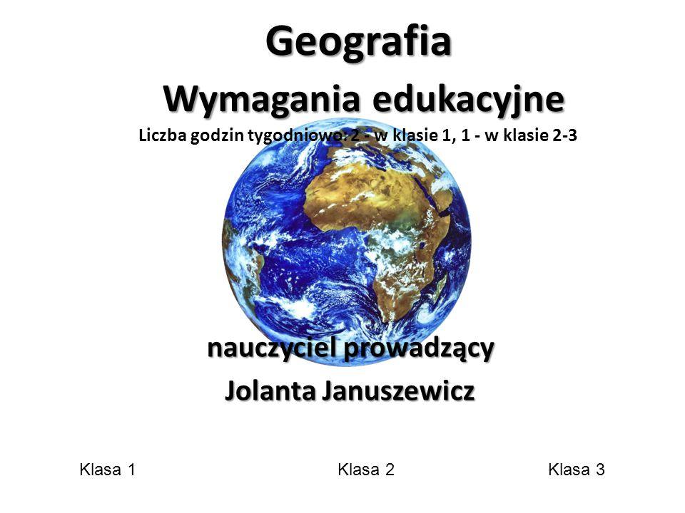 nauczyciel prowadzący Jolanta Januszewicz