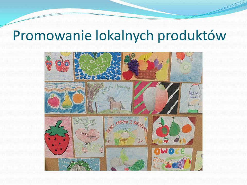 Promowanie lokalnych produktów