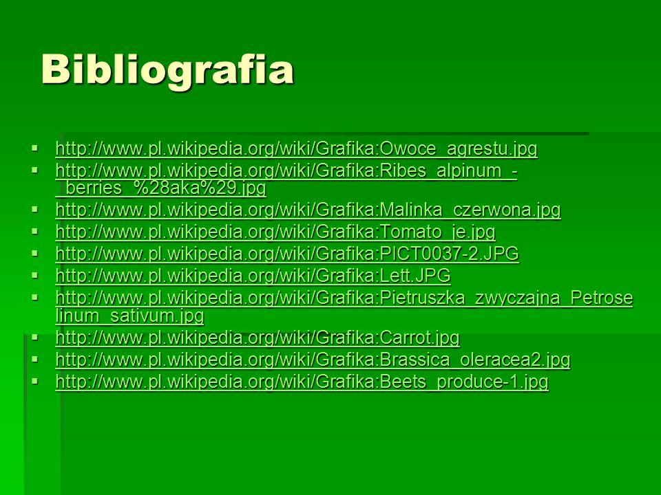 Bibliografia http://www.pl.wikipedia.org/wiki/Grafika:Owoce_agrestu.jpg.
