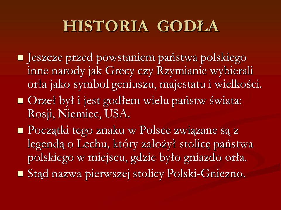 HISTORIA GODŁA