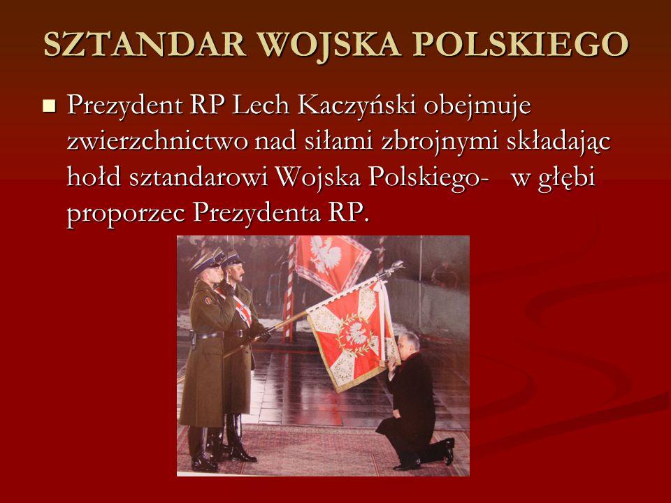 SZTANDAR WOJSKA POLSKIEGO
