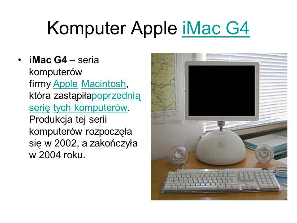 Komputer Apple iMac G4