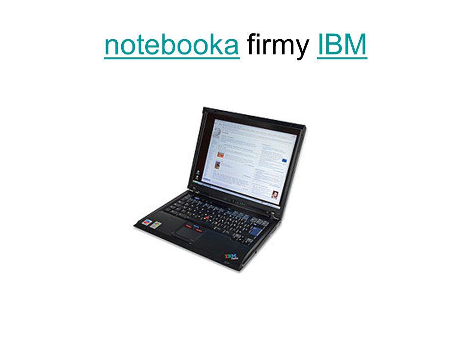 notebooka firmy IBM