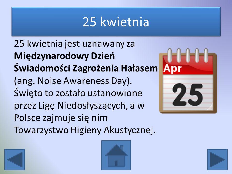 25 kwietnia