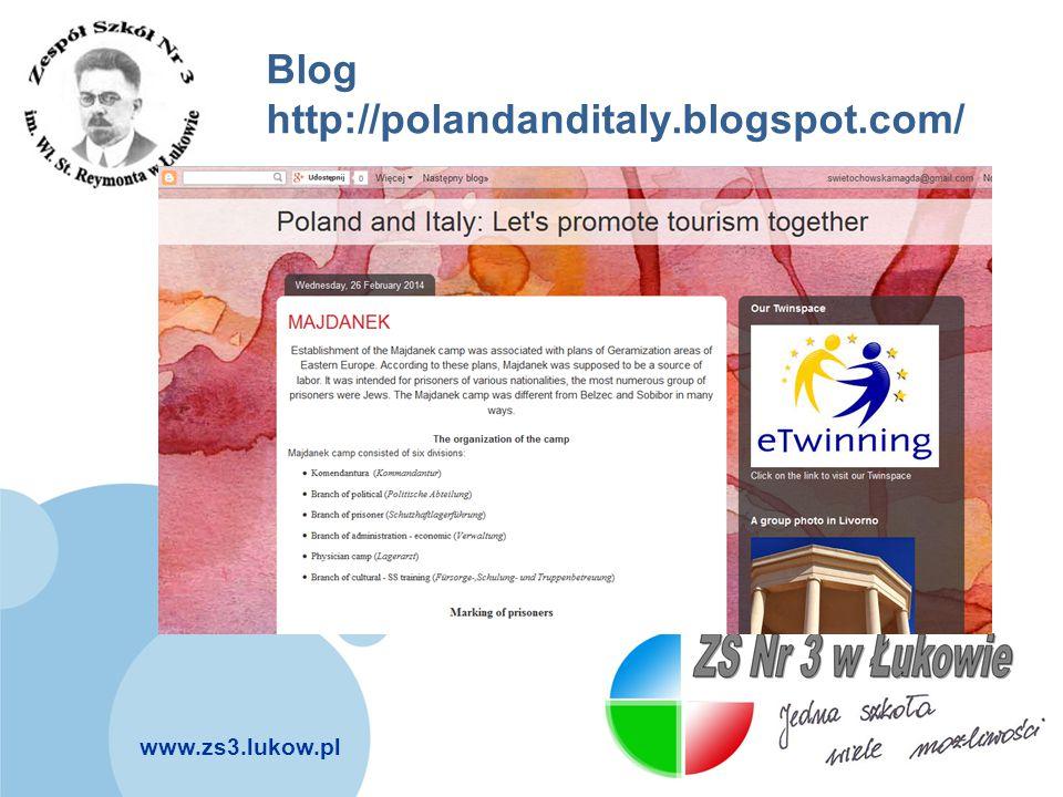 Blog http://polandanditaly.blogspot.com/