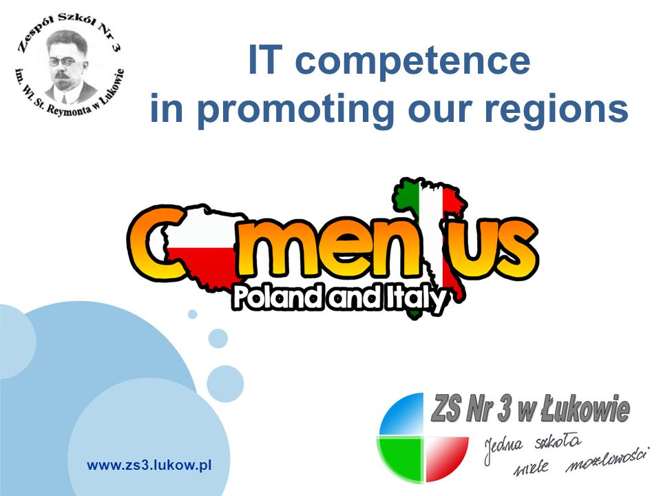 IT competence in promoting our regions