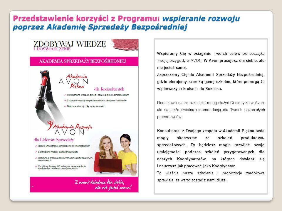 Przedstawienie korzyści z Programu: wspieranie rozwoju poprzez Akademię Sprzedaży Bezpośredniej