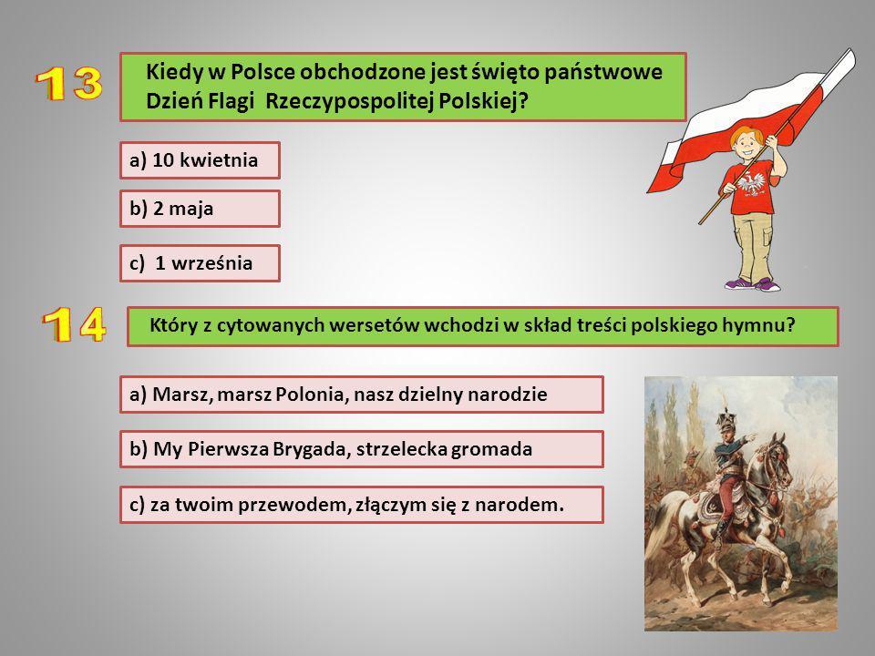 Kiedy w Polsce obchodzone jest święto państwowe