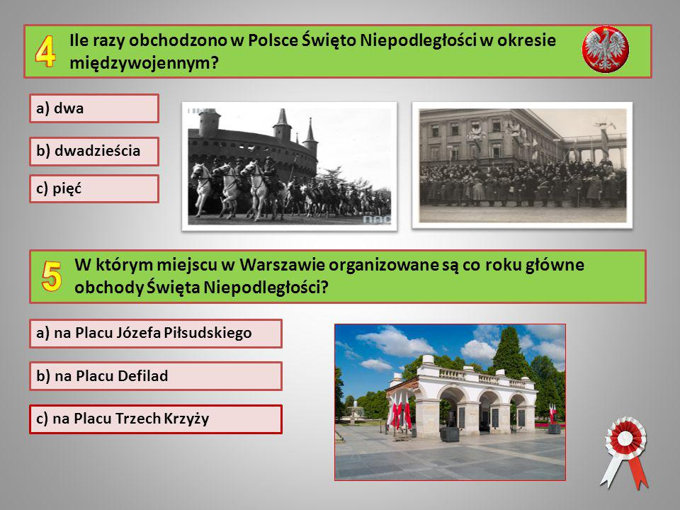 Ile razy obchodzono w Polsce Święto Niepodległości w okresie