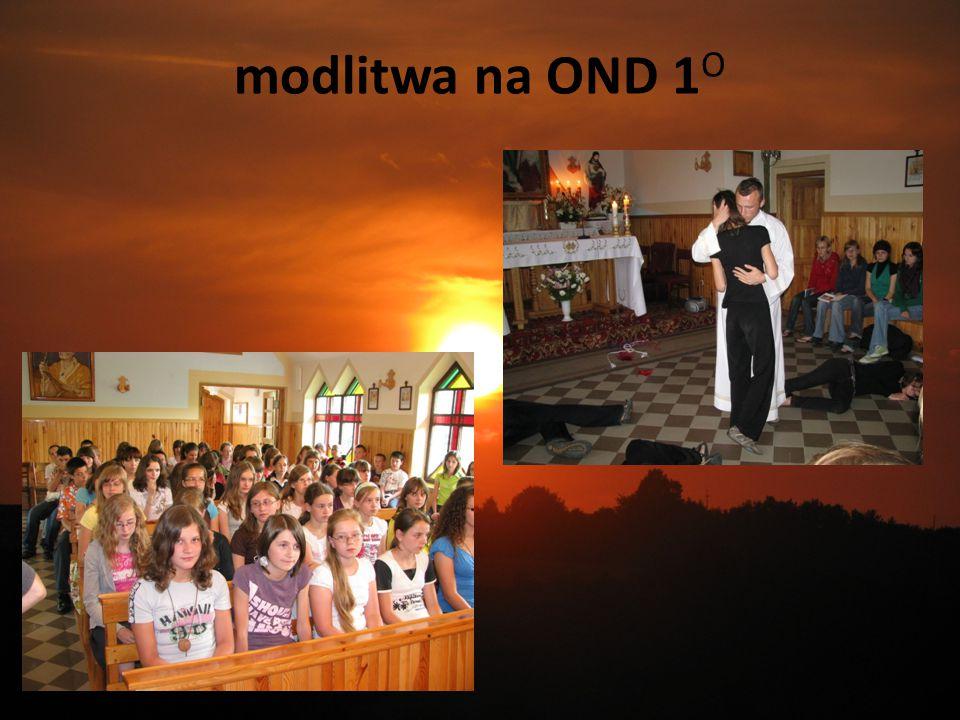 modlitwa na OND 1O