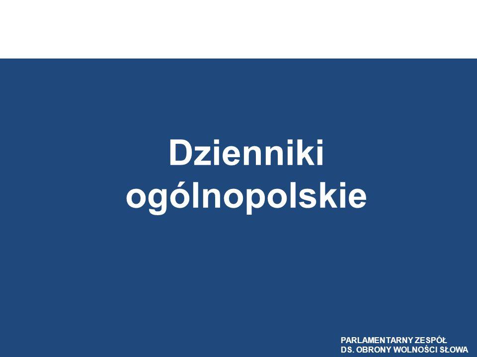 Dzienniki ogólnopolskie