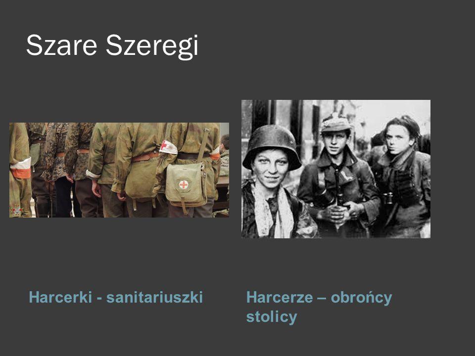 Szare Szeregi k l Harcerki - sanitariuszki Harcerze – obrońcy stolicy