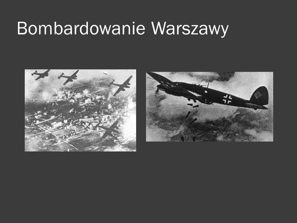 Bombardowanie Warszawy