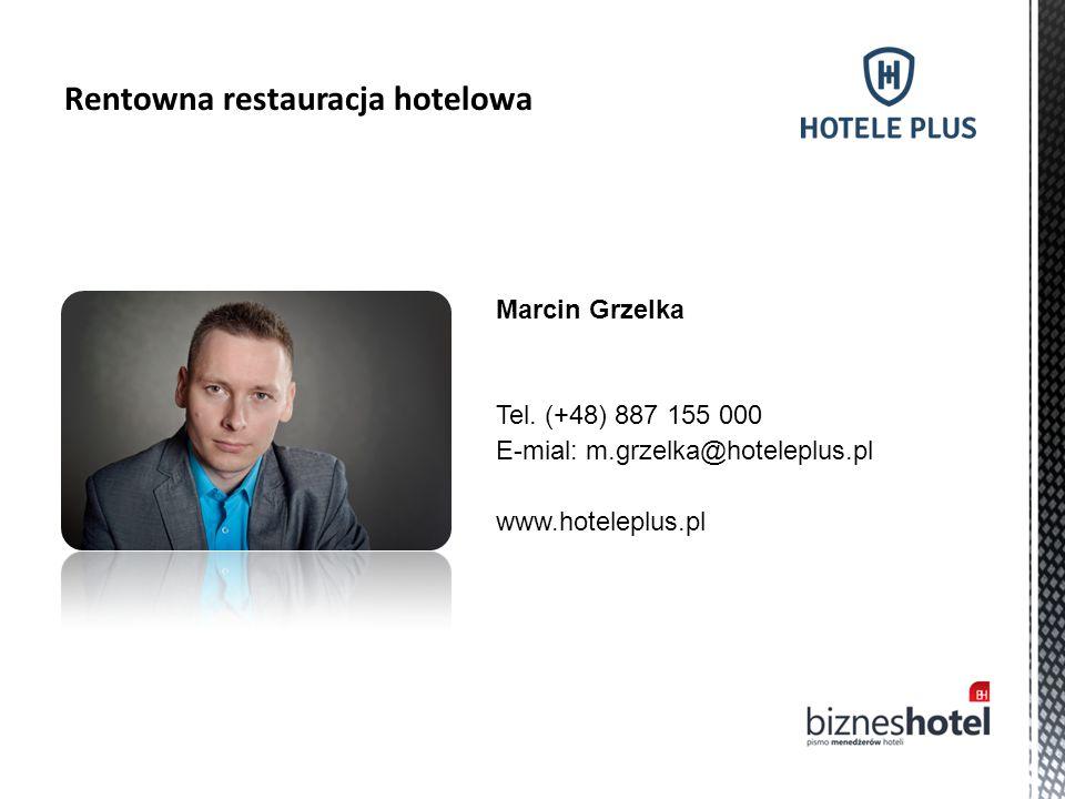Rentowna restauracja hotelowa