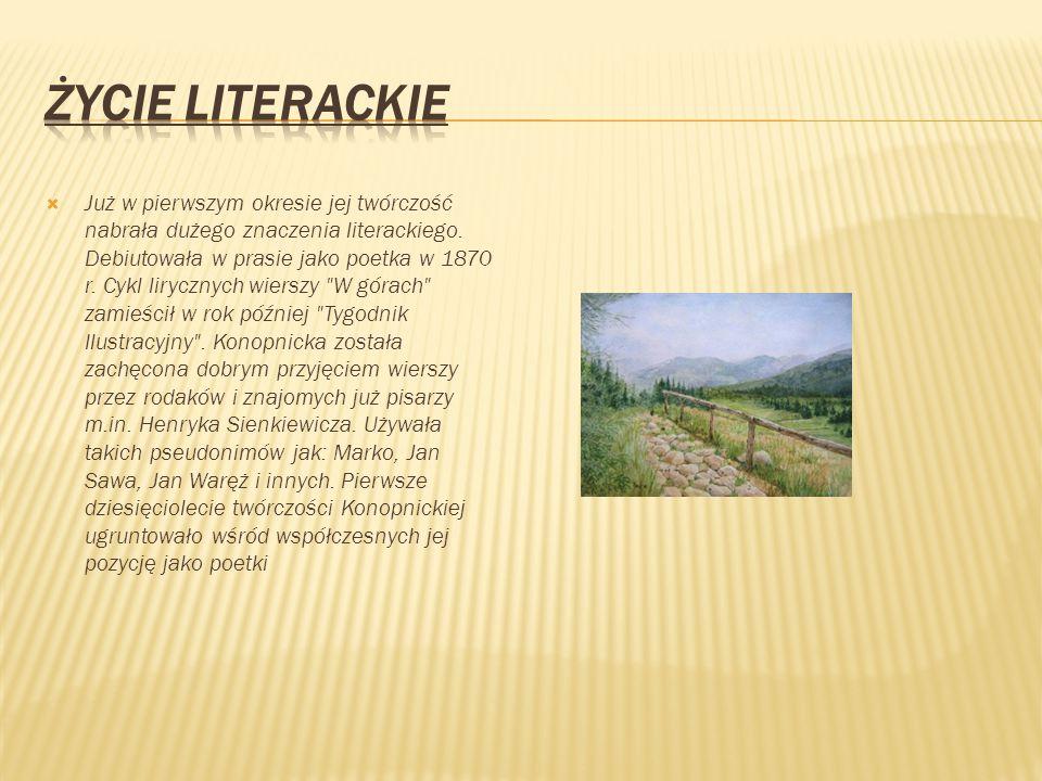 ŻYCIE LITERACKIE