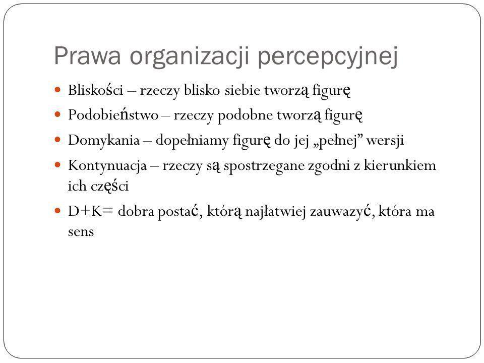 Prawa organizacji percepcyjnej