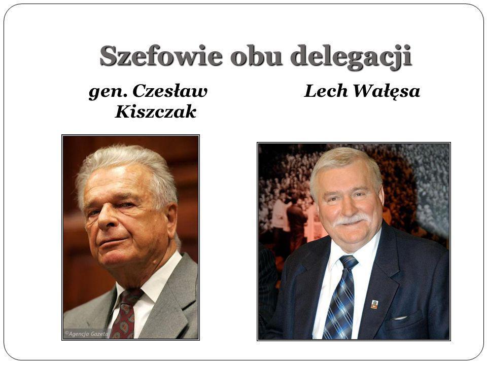Szefowie obu delegacji