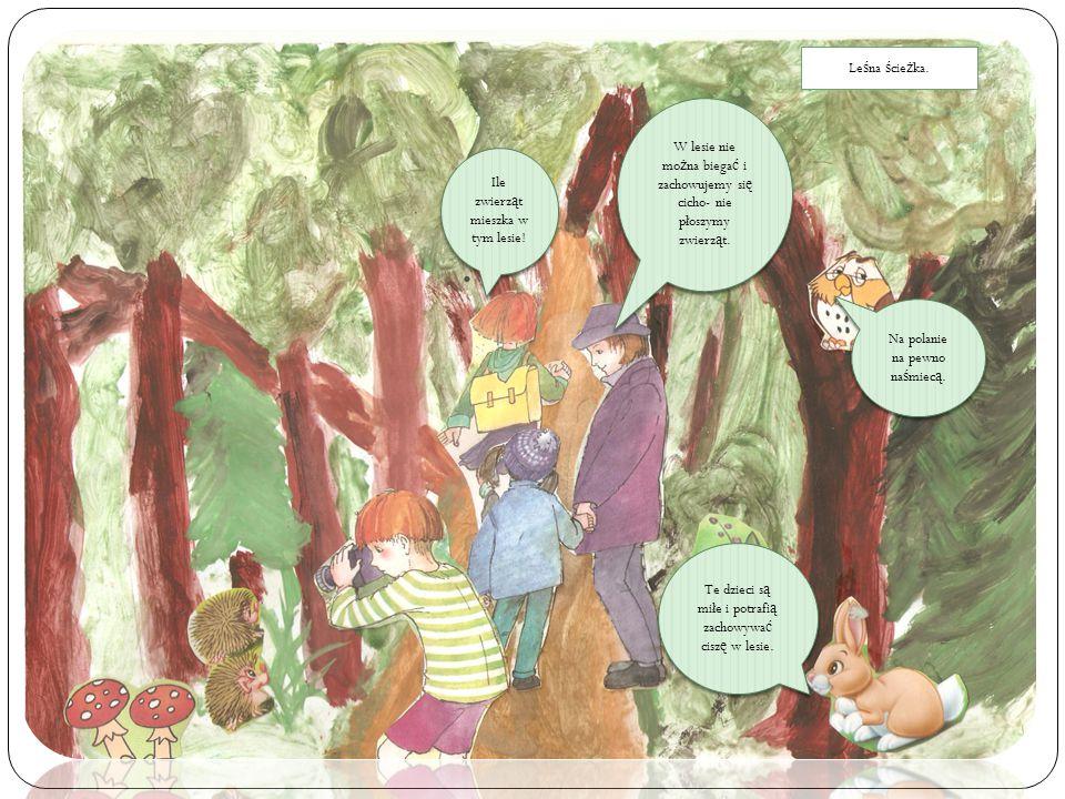 Ile zwierząt mieszka w tym lesie!