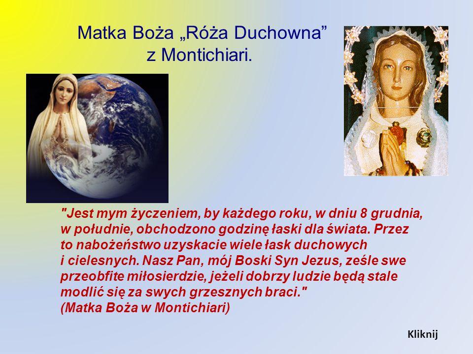 "Matka Boża ""Róża Duchowna"
