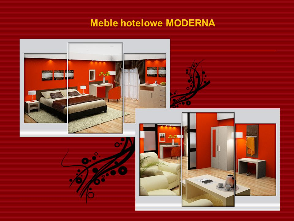 Meble hotelowe MODERNA