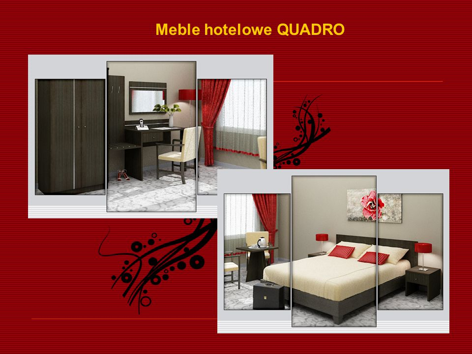 Meble hotelowe QUADRO