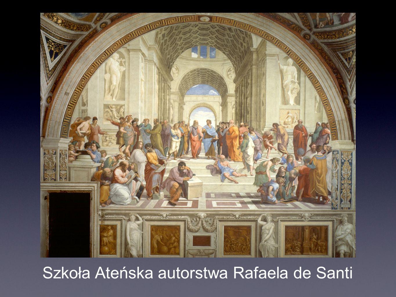 Szkoła Ateńska autorstwa Rafaela de Santi